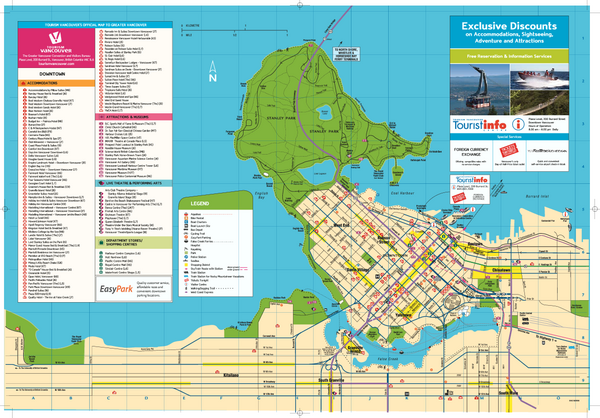 Map of Greater Vancouver Vancouver Canada mappery