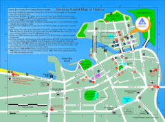 Map of Haikou City