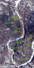 Map of Yongbyon Nuclear Complex