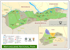 Mapungubwe National Park Map