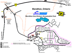 Marathon Trail Map