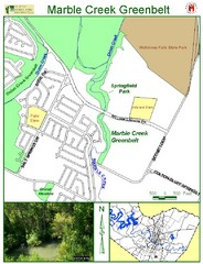 Marble Creek Greenbelt Map