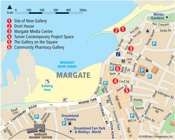 Margate Tourist Map