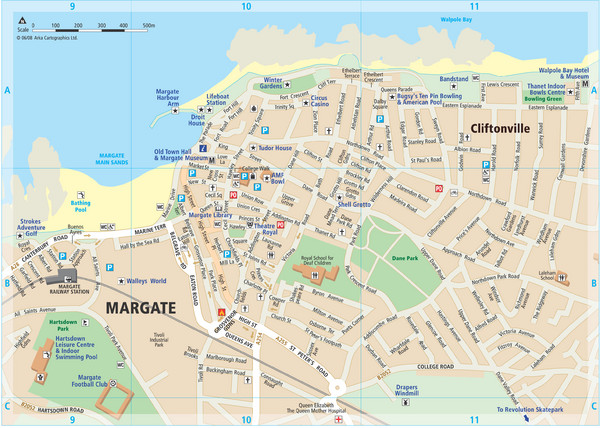 Margate TouristMap Map