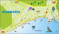 Marmaris City Map