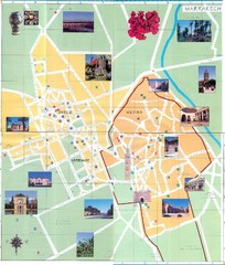 Marrakesh Tourist Map