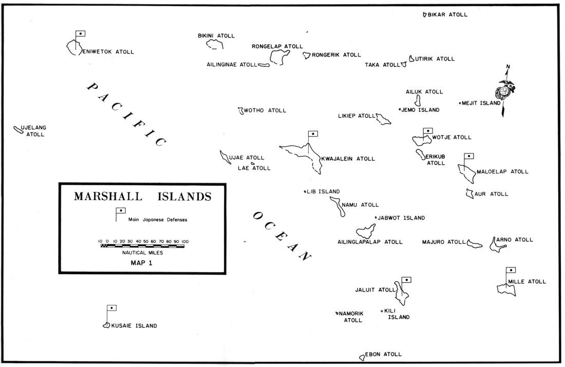 Marshall Islands Map - marshall islands • mappery