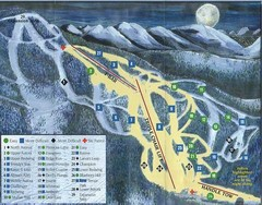 Marshall Mountain Ski Trail Map