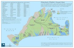 Martha's Vineyard Watershed Map