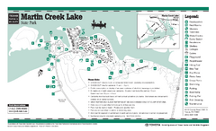 Martin Creek Lake, Texas State Park Facility and...