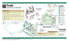 Martin Dies Jr., Texas State Park Trail Map