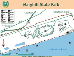 Maryhill State Park Map