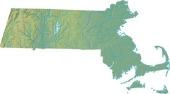 Maryland Relief Map