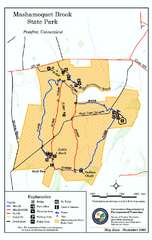 Mashamoquet Brook State Park trail map
