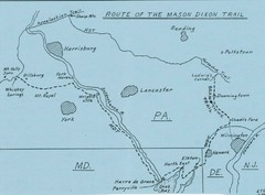 Mason Dixon Trail Map