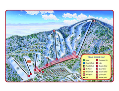 Massanutten Resort Ski Trail Map