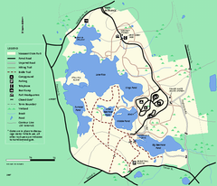 Massasoit State Park trail map