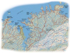 Matusadona National Park Map