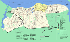 Maudslay State Park trail map