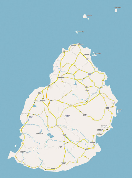 Mauritius Maps Mappery - Maurtius map