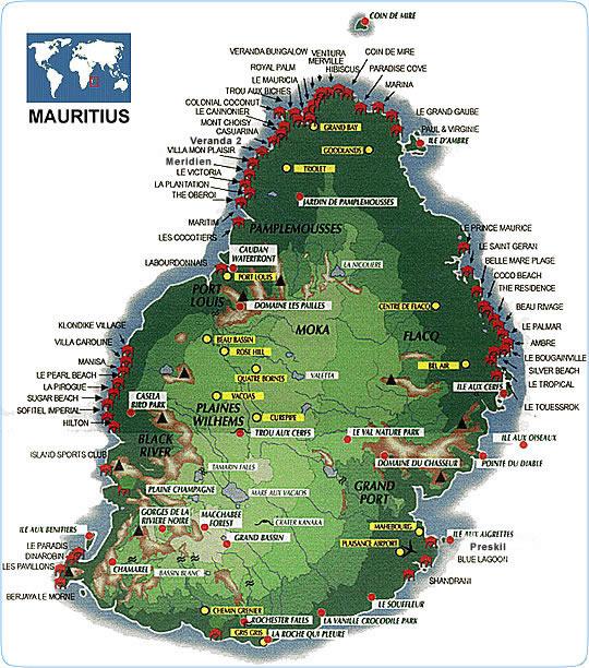 Mauritius Travel Maps | Metro Map | Bus Routes | Metrobus Way Map ... Mauritius Travel Maps