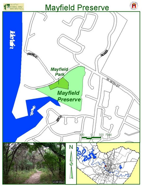 Mayfield Preserve Map