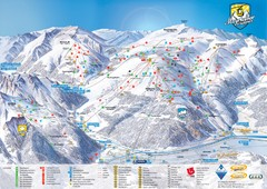 Mayrhofen Ski Trail Map