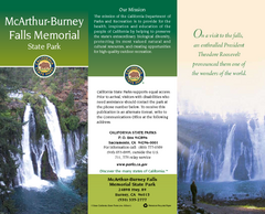 McArthur-Burney Falls Memorial State Park Map