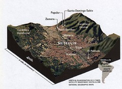 Medellin physical oblique map