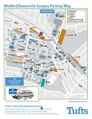 Medford Campus Map