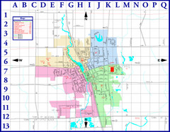 Medford City Map