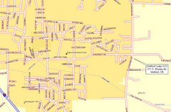 Medford, Oregon City Map