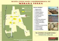 Megara Hyblaea Map