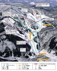 Meihō Ski Trail Map