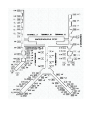 Memphis International Airport Terminal Map