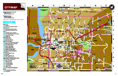Memphis, Tennessee City Map