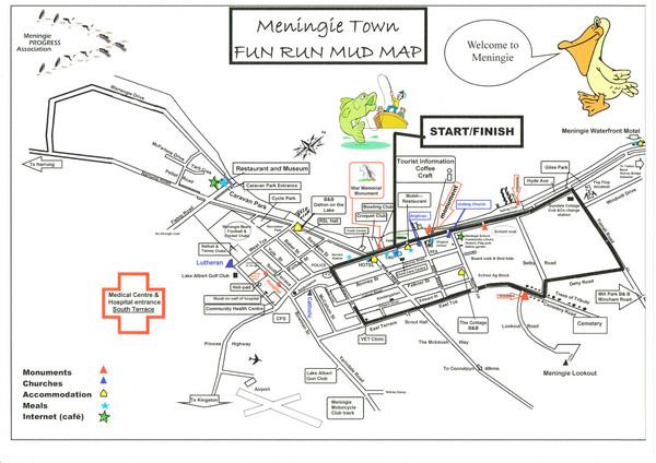 Meningie Australia  city photos gallery : Meningie Australia Tourist Map Meningie • mappery