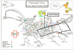 Meningie, Australia Tourist Map