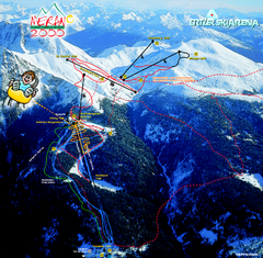 Meran Ski Trail Map