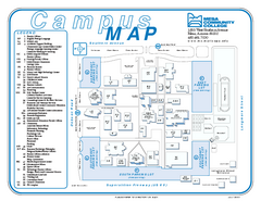 Mesa Community College Campus Map