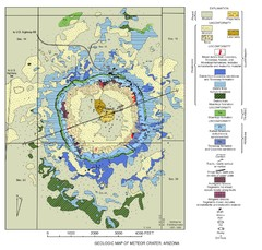 Meteor Crater Geologic Map