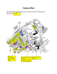 Metropolitan State College of Denver Map