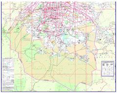 Street Map Mexico City