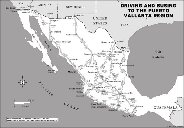 Mexico Highways Map