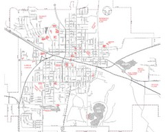 Mexico Missouri Street Map