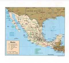 Mexico Tourist Map
