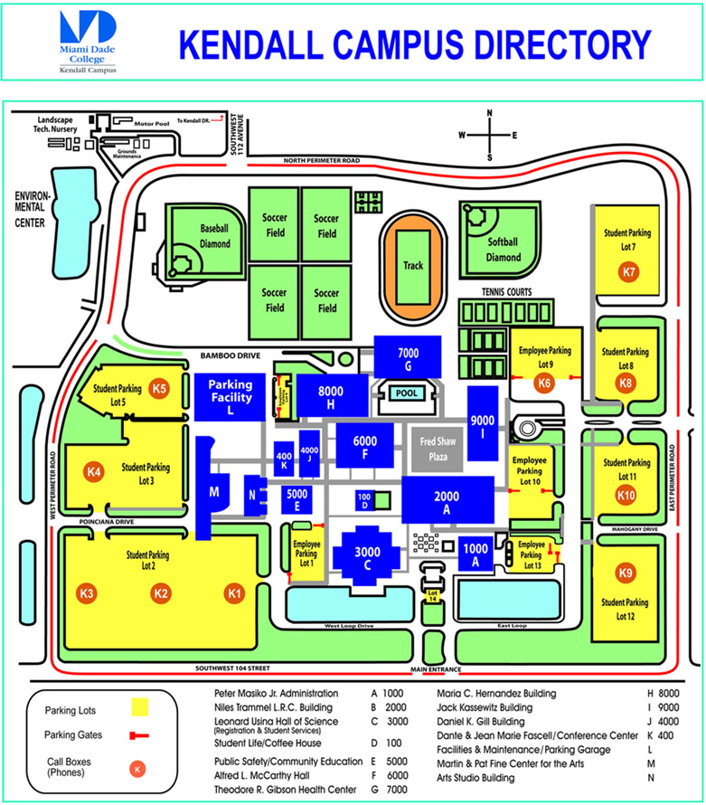 Rihanna Collection: mdc kendall campus map
