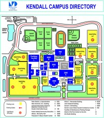 Miami Dade College - Kendall campus Map
