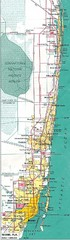 Miami, Florida Tourist Map