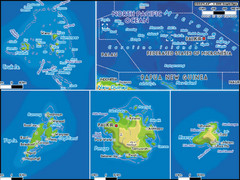 Micronesia Islands Map